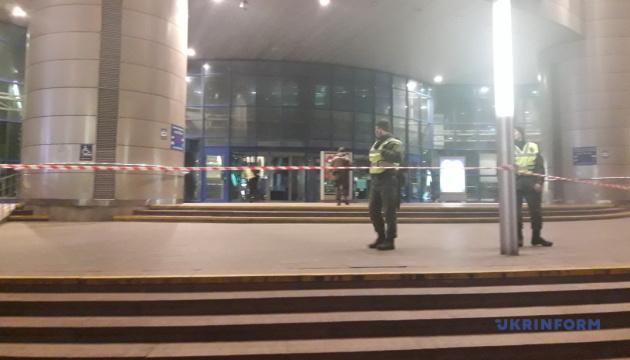 В Киеве эвакуировали Южный вокзал