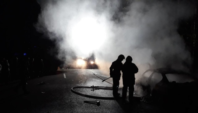 Verkehrsunfall mit Todesfolge in Oblast Riwne