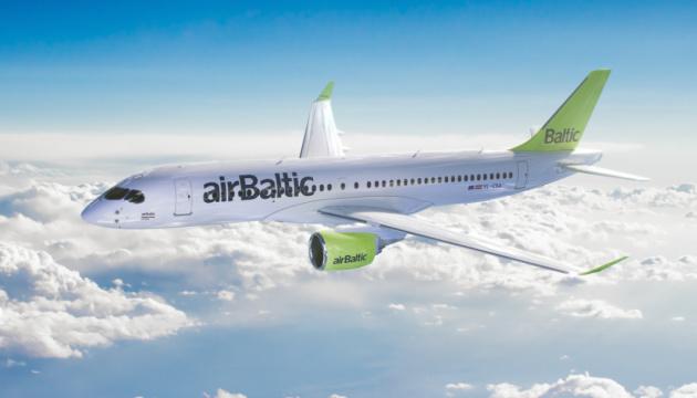 AirBaltic літатиме з Риги до Львова