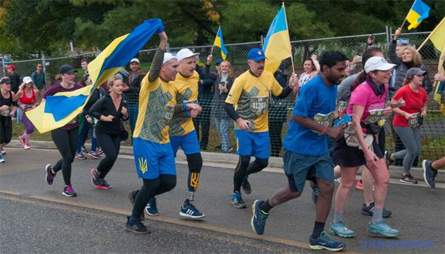 Спортивна реабілітація є найефективнішою для ветеранів АТО - учасники марафону в США