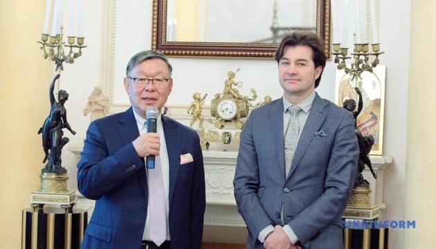 日本、2025年万博の大阪誘致につき、ウクライナの支持を期待