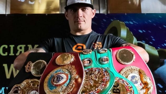 Усик – головний претендент на звання «Боксер року»