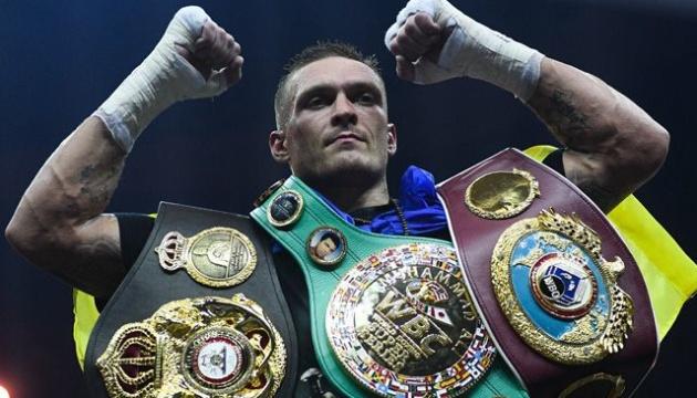 Усик посів 5 місце в рейтингу The Ring кращих боксерів світу