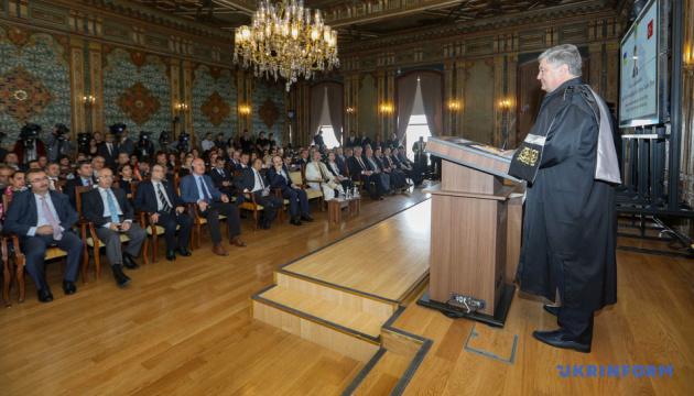Товарооборот между Украиной и Турцией ежегодно увеличивается на 20% - Порошенко