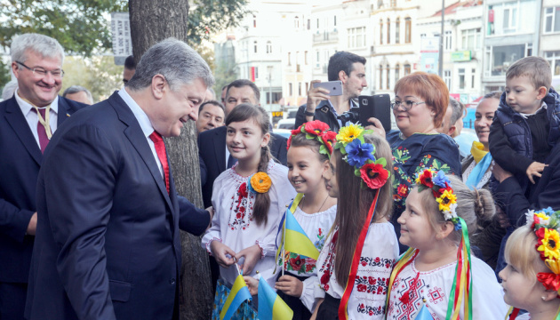 Poroschenko in der Türkei eingetroffen