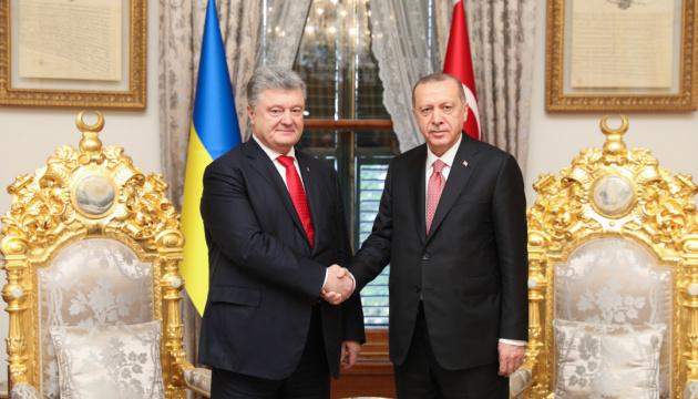 Poroschenko und Erdogan trefen sich in Istanbul