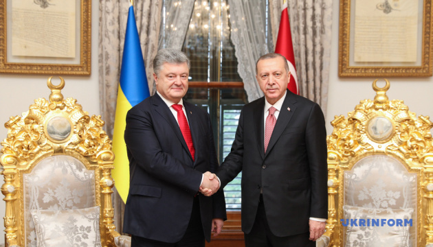 В лице Президента Эрдогана Украина имеет надежного друга - Порошенко