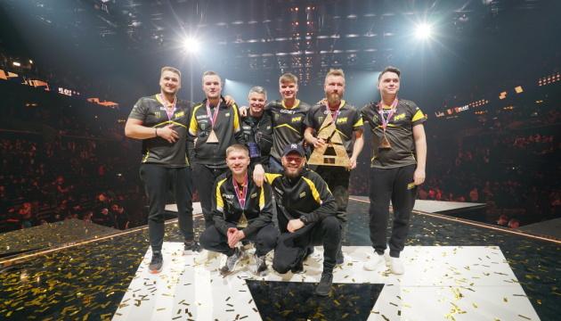 Украинские киберспортсмены победили в международном турнире