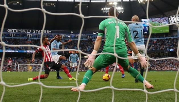 АПЛ: «Манчестер Сити» разгромил «Саутгемптон» и вышел на первое место