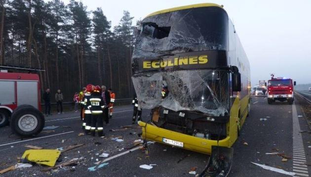 ДТП на юге Польши: украинского водителя допросят в качестве свидетеля