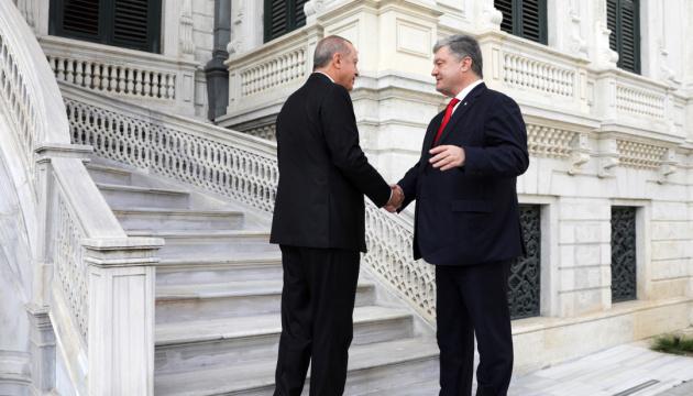 【宇土首脳会談】ポロシェンコ大統領、ウクライナ東部国連平和ミッションへトルコの参加を提案