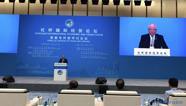 Vice PM Kubiv: Ukraine demonstrating latest achievements in Shanghai