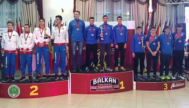 Украинские юниоры выиграли чемпионат ABAF по кроссу