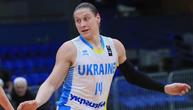 Баскетбол: капитан женской сборной Украины сделала дабл-дабл в чемпионате Турции