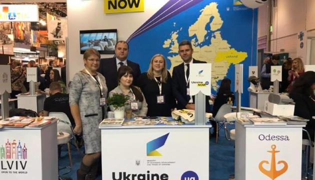 Ucrania participa en la exposición turística WTM en Londres