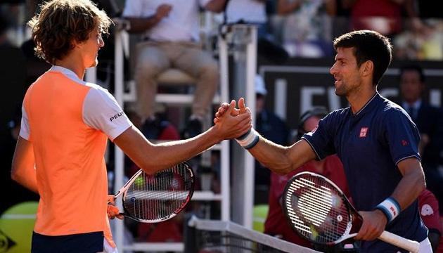 Теннис: Джокович и Зверев будут соревноваться в одной группе на Итоговом турнире ATP