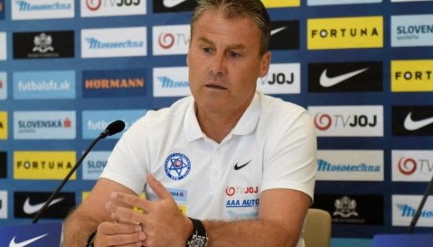 Ліга націй УЄФА: тренер Словаччини назвав склад на ігри з Україною та Чехією