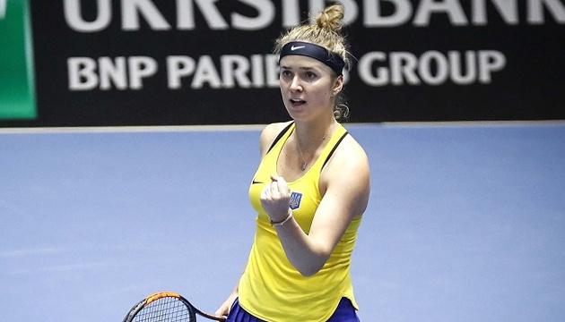 Элина Свитолина планирует сыграть за сборную Украины по теннису в феврале