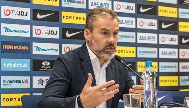 Наставник збірної Словаччини: З Україною і Чехією гратимемо лише на перемогу