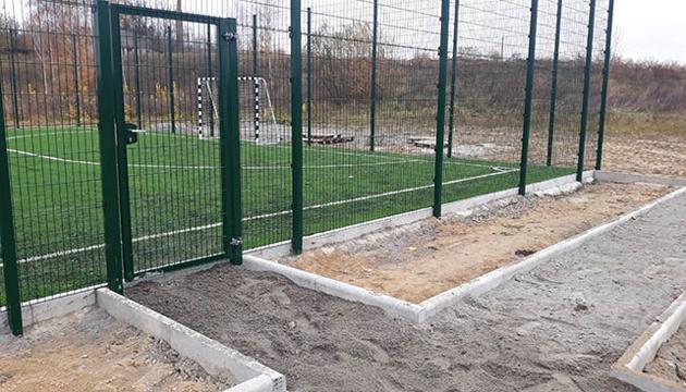 На Житомирщине построили 9 футбольных площадок с искусственным покрытием