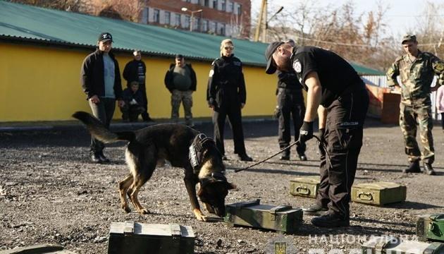 乌克兰和波兰犬学专家在赫梅利尼茨基进行联合培训