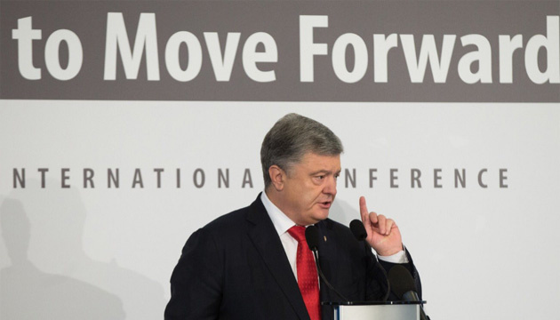 ポロシェンコ大統領:「DPR/LPR」の偽選挙による新たな対露制裁発動を期待