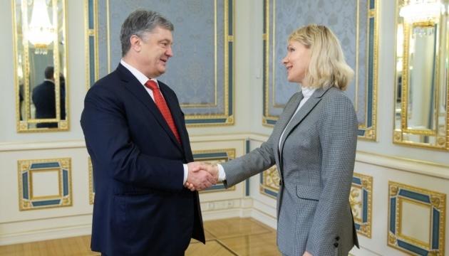 El presidente Poroshenko espera que Louis Dreyfus Company aumente la inversión en Ucrania