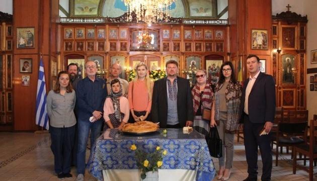 Ukrainians in Ethiopia commemorate Holodomor victims. Photos