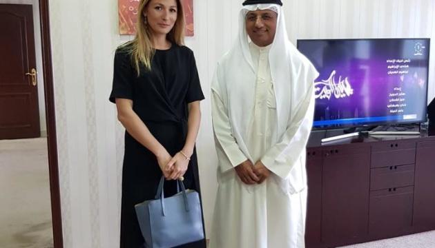 Джапарова домовлятиметься про співробітництво UA TV з кувейтським мовником
