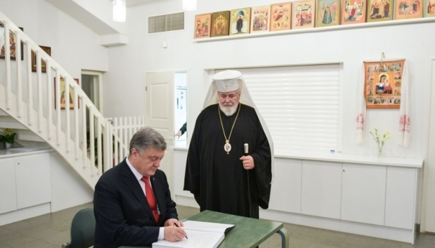 Poroshenko meets with Primate of Finnish Orthodox Church