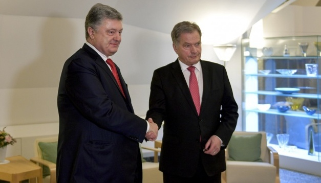 Presidents of Ukraine and Finland discuss concerted actions to release Kremlin prisoners