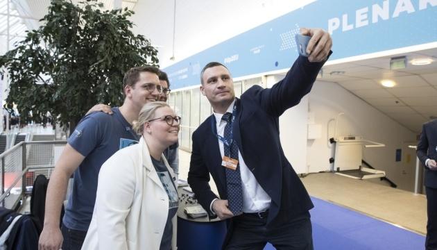 Klitschko asiste al congreso del PPE en Helsinki