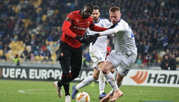 El Dynamo derrota al Rennes en el partido de la UEFA Europa League (Foto)