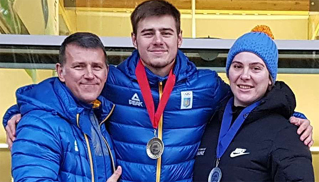 Гераскевич одержал первую международную победу в истории украинского скелетона