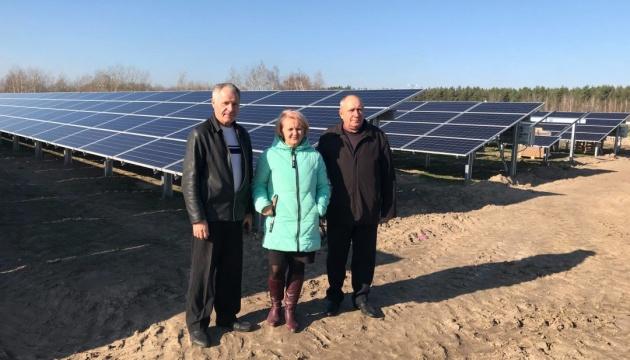 На Житомирщине строят солнечную электростанцию