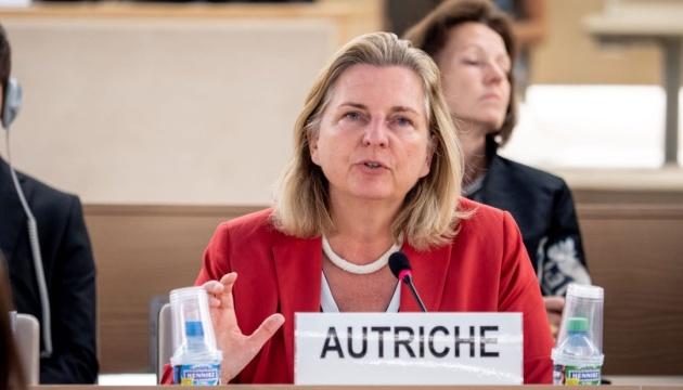 Глава МЗС Австрії засудила застосування сили Росією в Керченській протоці