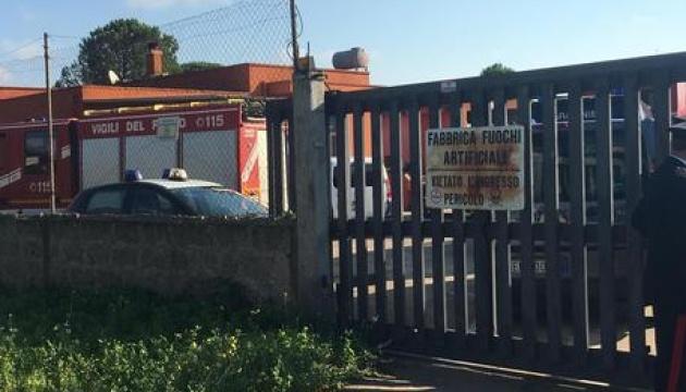 На італійській фабриці феєрверків стався вибух, загинула людина - ЗМІ
