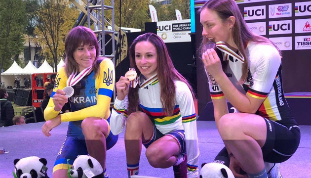 Украинская велосипедистка Ирина Попова завоевала