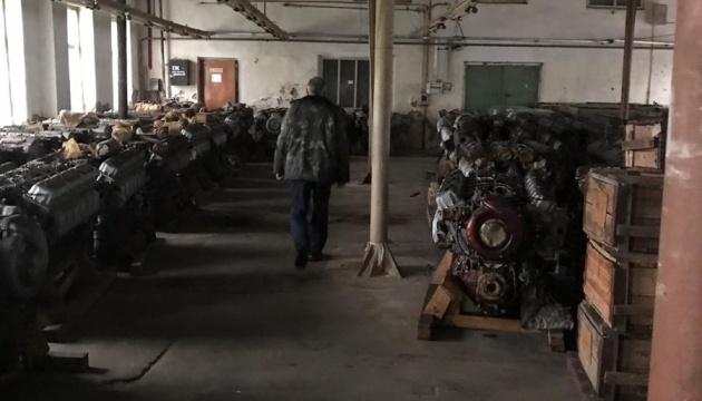 Силовики знайшли склади з викраденим військовим майном