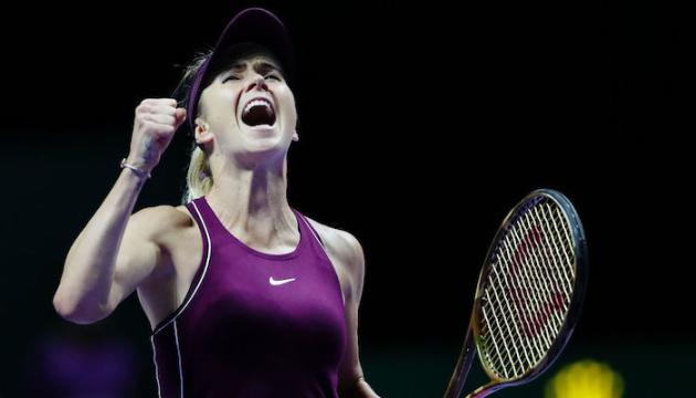 Свитолина - лучшая теннисистка октября по версии WTA