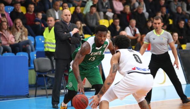Баскетбол: «Химик» победил в Черкассах, отыграв на последних минутах 17 очков