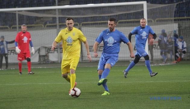 К столетию ФК «Днепр» состоялся матч легенд украинского футбола
