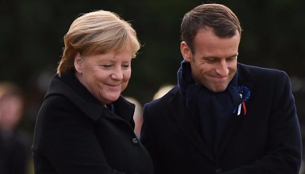 Einflussreiche Media-Strukturen Europas fordern Merkel und Macron auf, Rechte der Nachrichtenagenturen zu schützen
