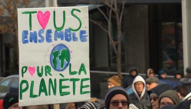 У Монреалі 50 тис. осіб вийшли на захист навколишнього середовища