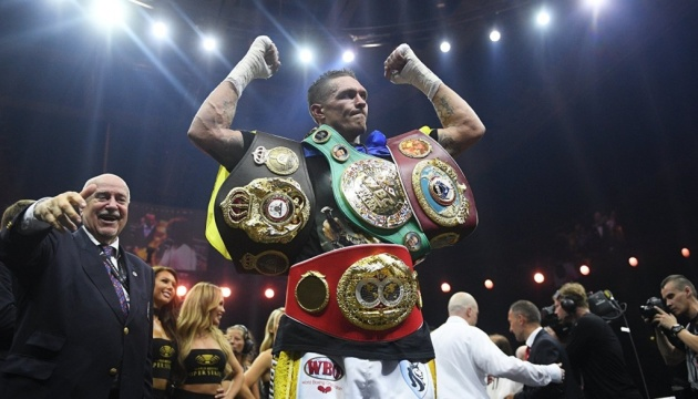 Usyk recognized as BoxingScene's 2018 fighter of the year