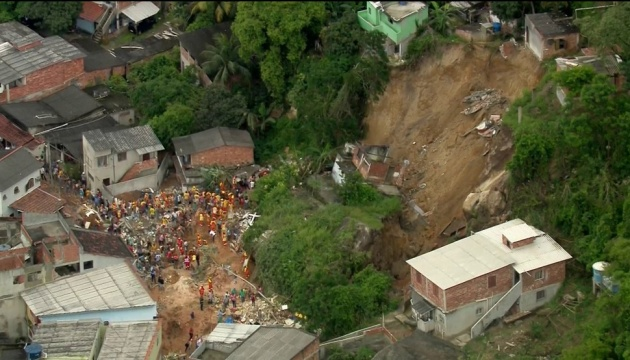 Зсув грунту в Бразилії: кількість жертв зросла до 14