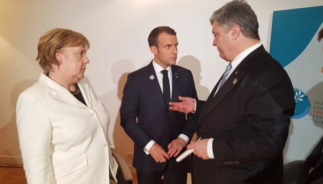 Poroshenko agradece a los líderes mundiales por no reconocer las pseudo-elecciones en Donbás