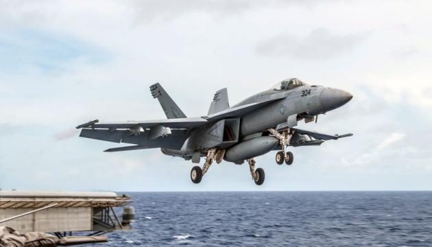 У Філіппінському морі розбився американський винищувач