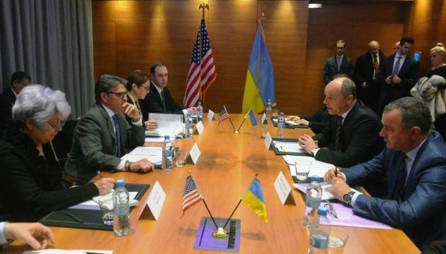 Parubij bietet amerikanischen Investoren Zusammenarbeit bei Verwaltung des ukrainischen GTS