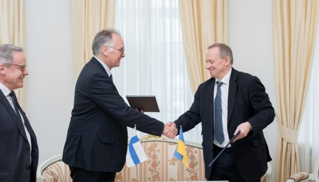 Energoatom signs memorandum on cooperation with Finland's Wartsila